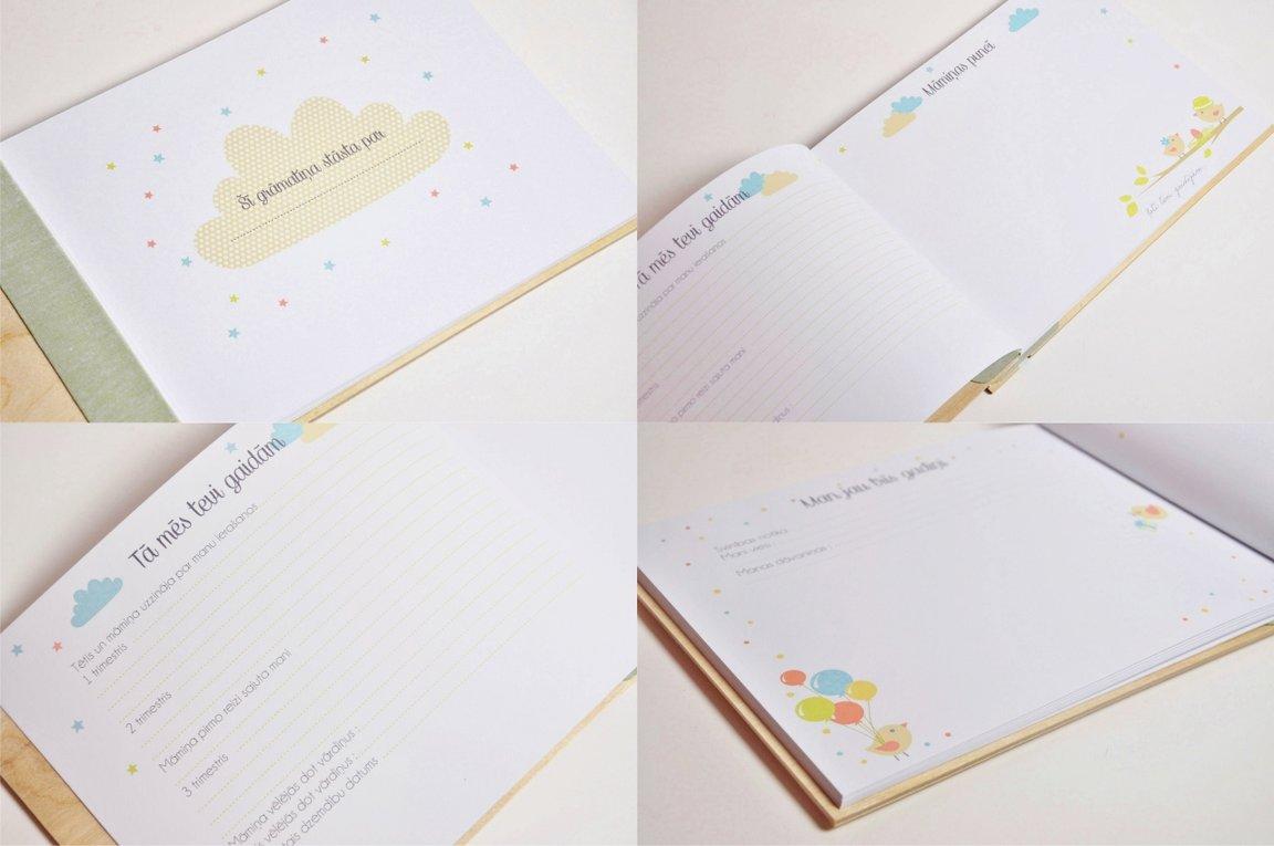 mazuļa dienasgrāmata - fotorāmis