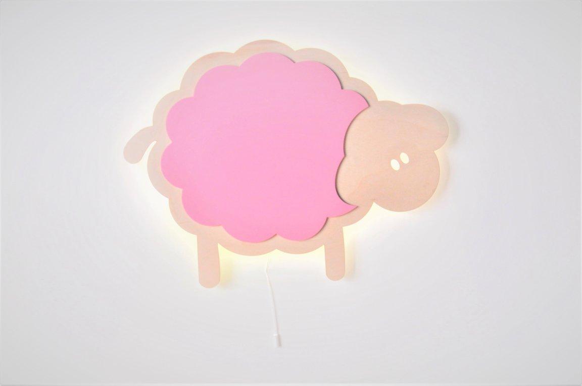 nakts lampa- aitiņa