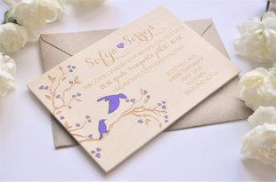 koka ielūgums - Putni