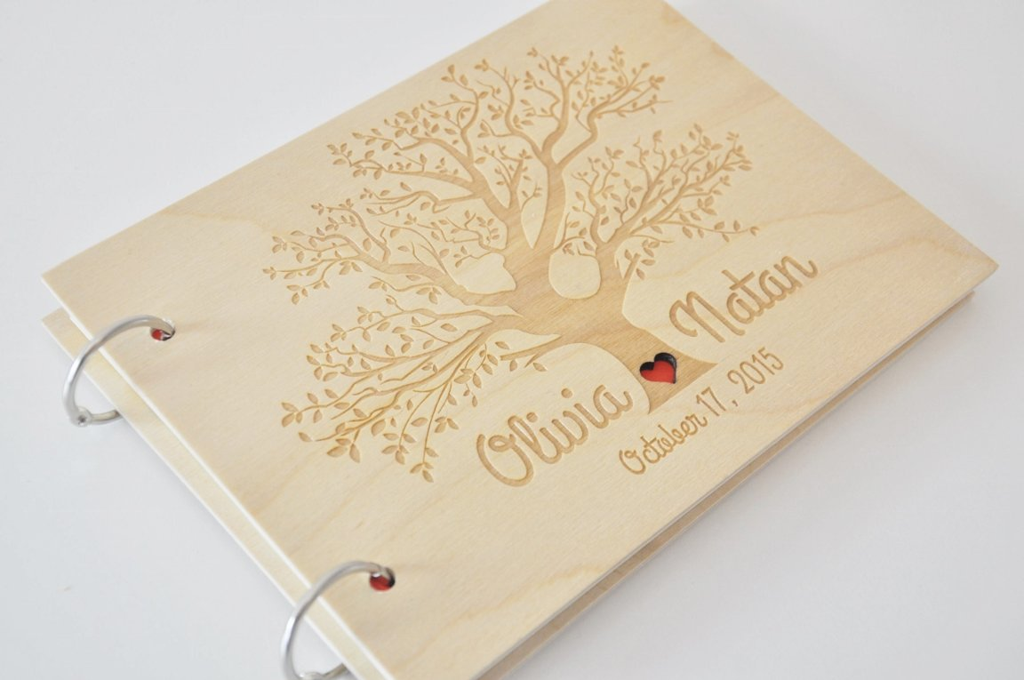 viesu grāmata koka vākos KOKS