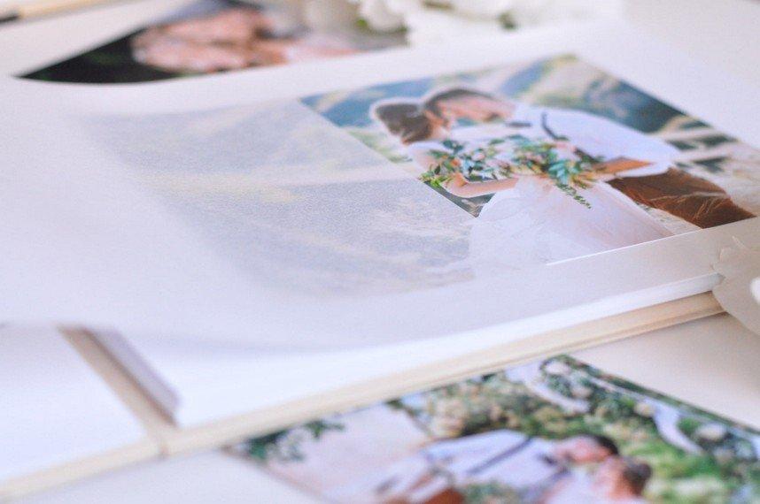 Fotoalbums koka vākos VAINAGS